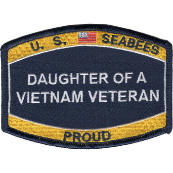 Seabee Daughter of a Vietnam Veteran Patch