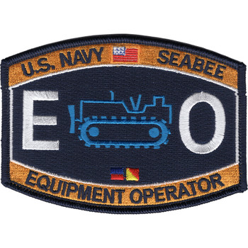 Seabee Construction Equipment Operator Patch Rating
