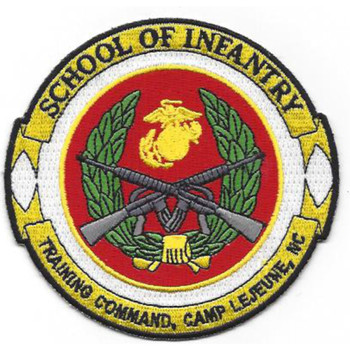 School Of Infantry Training Command Camp Patch