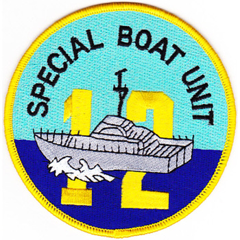 SBU-12 Special Boat Unit Patch