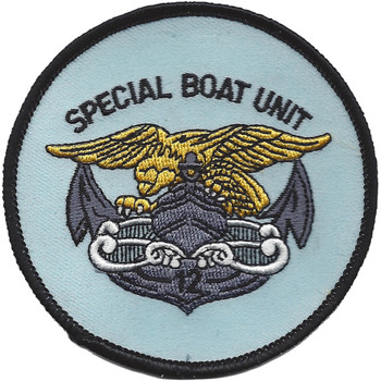 SBU-12 Special Boat Unit One Two Patch Color