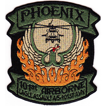 5th Battalion 101st Airborne Eagle Assault Aviation Div A Co Patch
