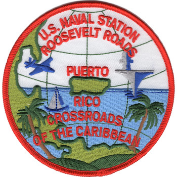 Roosevelt Roads Puerto Rico Naval Station Patch