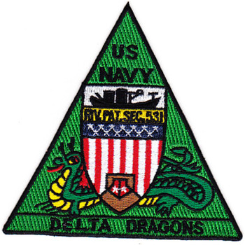 Rivsec 531 River Section Patch Delta Dragons
