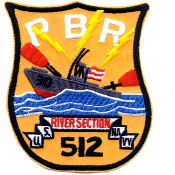 RIVSEC-512 River Patrol Section Patch Vietnam