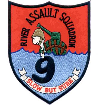 Rivron 9 Naval River Assault Squadron Nine Patch Slow But Sure
