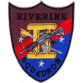 Rivron 2 Naval River Squadron Two Patch