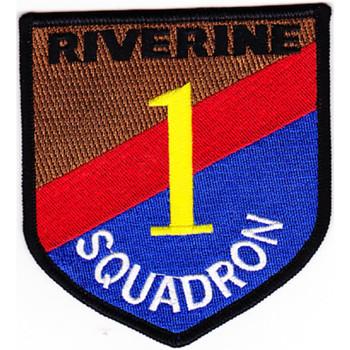 Rivron 1 River Squadron One Patch