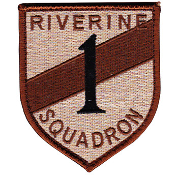 Rivron 1 Naval River Squadron One Desert Patch Hook And Loop