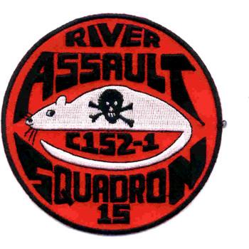 Rivron 15 Naval River Assault Squadron Patch