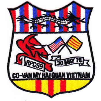 Rivpatgrp 59 Naval River Patrol Group Five Nine Patch