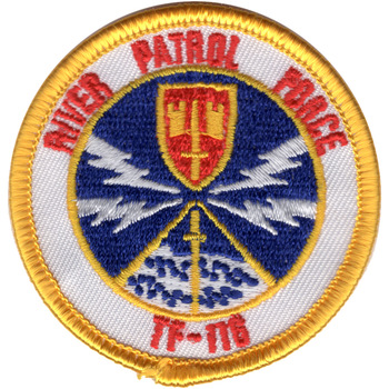 River Patrol Force Vietnam TF-116 Iron-on Patch