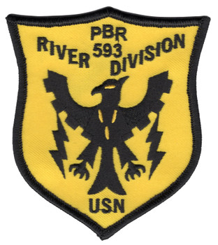 RIVDIV 593 River Division Patch PBR