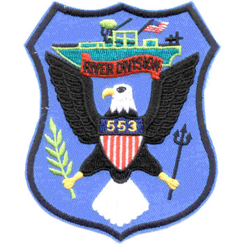 RIVDIV 553 River Division Patch