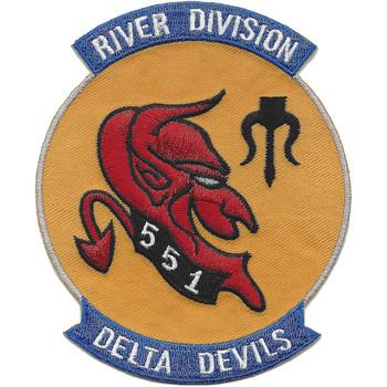 RIVDIV-551 River Interdiction Division Patch