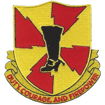 598th Field Artillery Battalion Patch