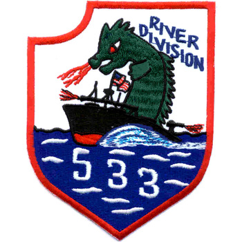 RIVDIV 533 River Division Patch