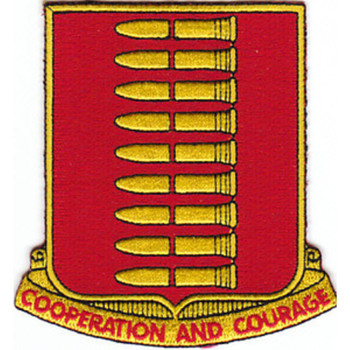 597th Field Artillery Battalion Patch