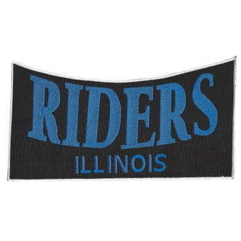 Riders Illinois Back Patch