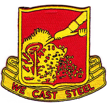 595th Field Artillery Battalion Patch