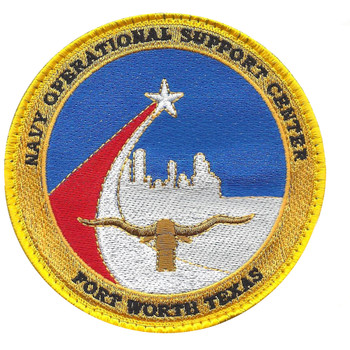 Operational Support Center Fort Worth Texas Patch Hook And Loop