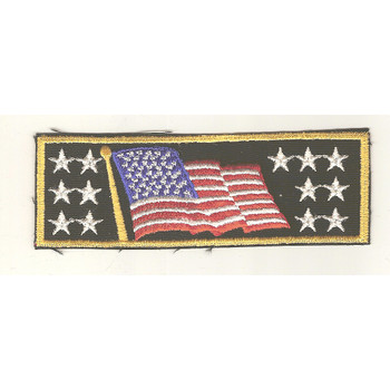 Old Glory Flag Liberty Cuff (Pair) Patch