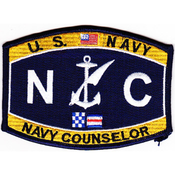 Occupational Rating Navy Counselor Patch