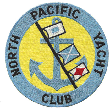 North Pacific Yacht Club Patch