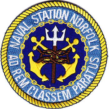 Norfolk Naval Station Virginia Patch Hook And Loop
