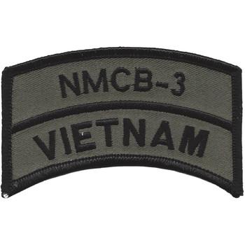 NMCB-3 Vietnam OD Patch