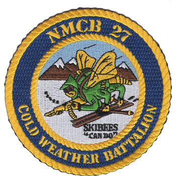 NMCB 27 Cold Weather Battalion Patch