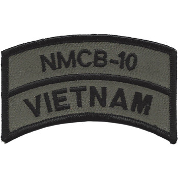 NMCB-10 Vietnam OD Patch