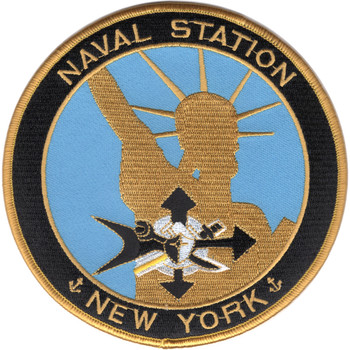 New York Naval Station Patch