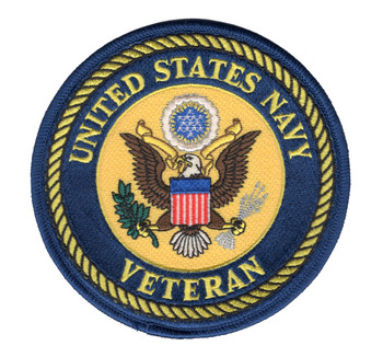 Navy Veteran Patch