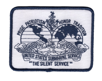 Navy Submarine Silent Service Dolphins Patch