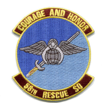 58th Rescue Squadron Patch