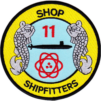 Navy Shop 11 Shipfitters Submarine Division Patch