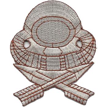 Navy Scuba Diver Badge Enlisted Desert Patch