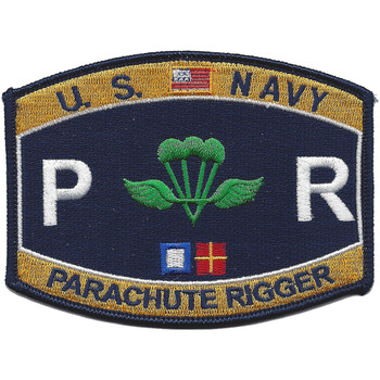 Navy Rating Parachute Rigger Patch