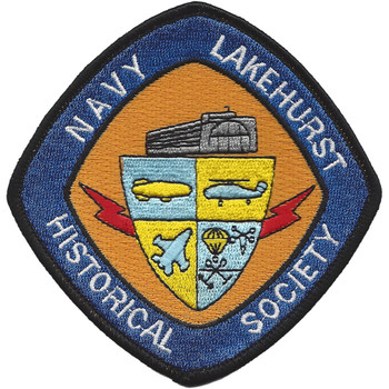 Navy Lakehurst Historical Society Patch