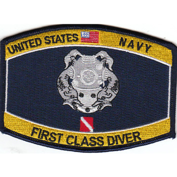 Navy First Class Diver Patch