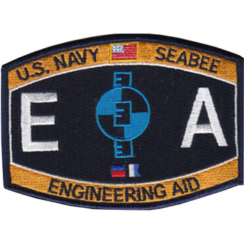 Seebee Construction Engineering Aid Patch Rating