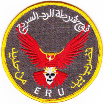 Seal Team Training Iraqi Emergency Response Unit Patch