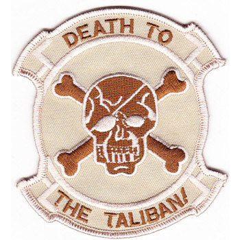 Seal Team IV Afghanistan Theater Of Operation Patch Desert