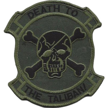 Seal Team IV Afghanistan OD Green Patch