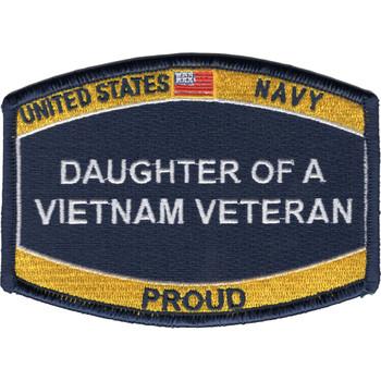 Navy Daughter of a Vietnam Veteran Patch