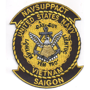 NAVSUPPACT Vietnam Saigon Patch
