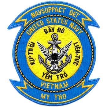 NAVSUPPACT Detachment My Tho Vietnam Patch
