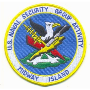 NAVSECGRPACT Midway Island Patch