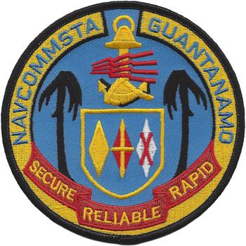NavCommSta Guantanamo Cuba Patch
